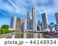 シンガポール 金融街 都会の写真 44148934
