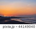 (静岡県)中田島砂丘 日の出 44149040