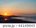 (静岡県)中田島砂丘 日の出 44149043