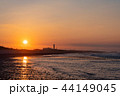 (静岡県)中田島砂丘 日の出 44149045