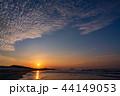 (静岡県)中田島砂丘 日の出 44149053