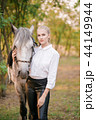カウガール 馬術 女性の写真 44149944