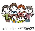 家族 三世代家族 三世代のイラスト 44150927