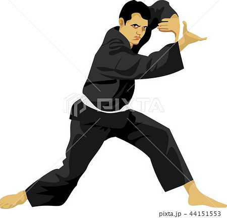 Pencak Silat Boy Indonesian Martial Art 44151553