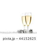 シャンパン シャンペン クリスマスの写真 44152625