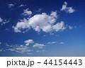 青空と白い雲(背景素材) 44154443