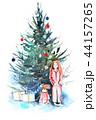 クリスマス 樹木 樹のイラスト 44157265