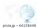 テクノロジー 抽象的 デジタルのイラスト 44158446
