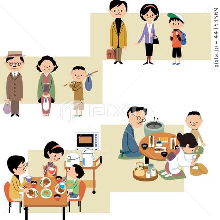 昭和と平成の家庭生活 44158569