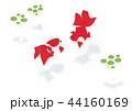 金魚 魚 水草のイラスト 44160169