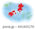 金魚 魚 池のイラスト 44160170