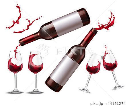 Red Wine Splash Collection 44161274