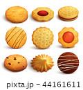 調理 クッキー 組み合わせのイラスト 44161611