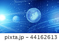 グローバル 地球儀 サイバーのイラスト 44162613