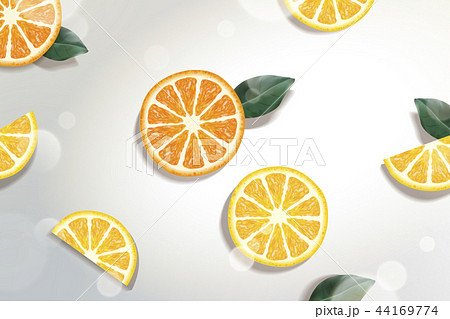 Refreshing citrus background 44169774