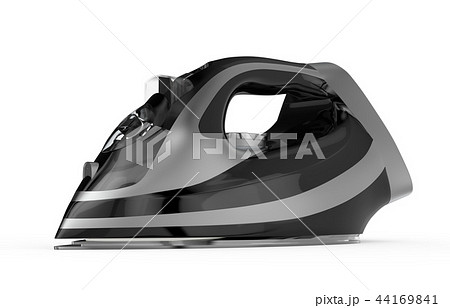 Silver and black electric iron 44169841