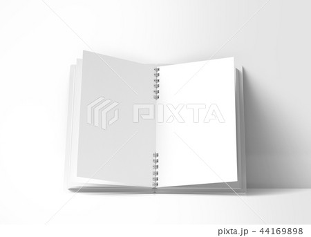 Open blank notebook 44169898