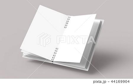 Open blank notebook 44169904