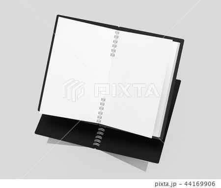 Open blank notebook 44169906