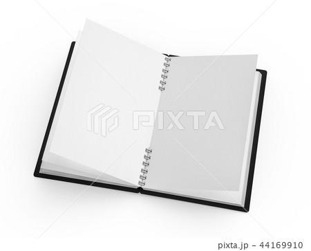 Open blank notebook 44169910