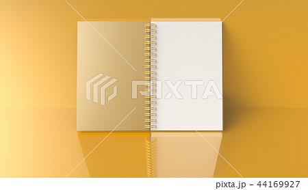 Blank notebook mockup 44169927