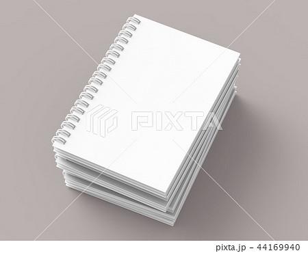 Blank notebooks pile 44169940