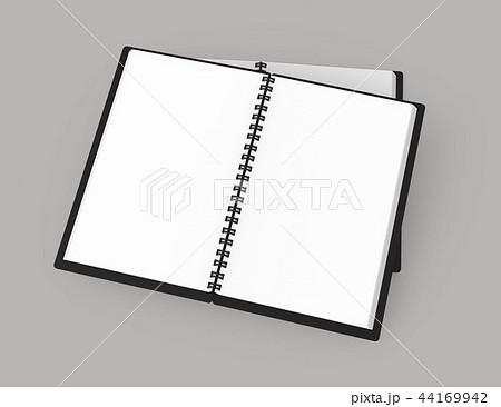Open blank notebook 44169942