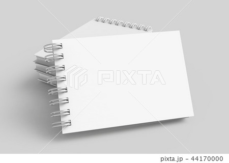 Blank white notepads 44170000