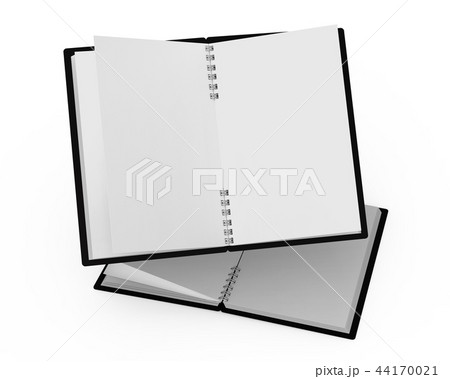 Spiral notebooks blank template 44170021