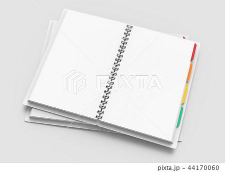 White open hard cover notebooks 44170060