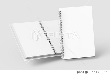 Blank notebooks mockup 44170087