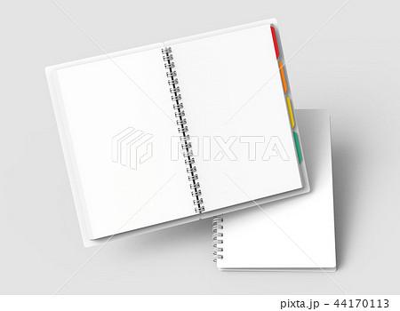 Floating white hard cover books 44170113