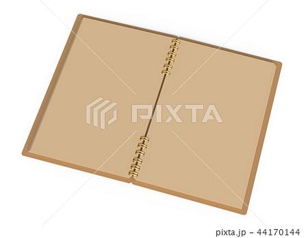 Kraft paper open notebook 44170144