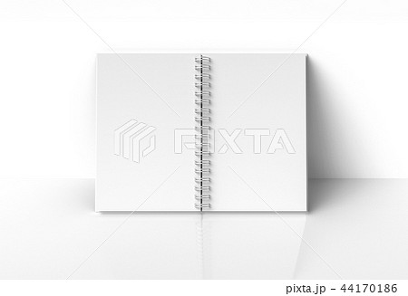 White hard cover book 44170186