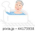 シニア 男性 入浴 適温 44173938
