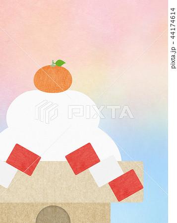 和-和風-和柄-和紙-背景-鏡餅-正月 44174614