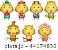 七福神 年賀状素材 神様のイラスト 44174830