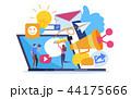 コミュニケーション 交流 通信のイラスト 44175666