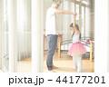 遊んでいる父親と娘 44177201
