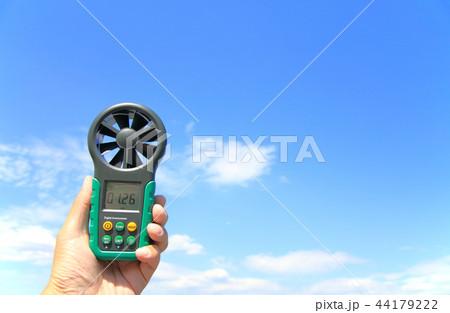 デジタル風速計 ドローンフライト前の風速チェック 44179222