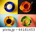 カカオ コーヒー カップの写真 44181453