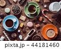 カカオ コーヒー カップの写真 44181460