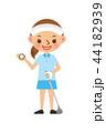 ゴルフ 女性 44182939