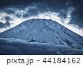 風景 富士山 雪の写真 44184162