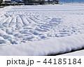 冬 積雪 雪景色の写真 44185184