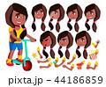 少女 10代 子供のイラスト 44186859