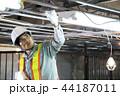 建設現場 電気工事 建設 作業員 44187011