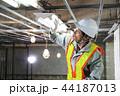 建設現場 電気工事 建設 作業員 44187013