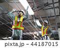 建設現場 電気工事 建設 作業員 44187015