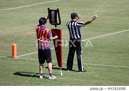 アメリカンフットボール 審判 44191696
